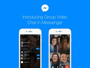 Facebook announced group video chatting for messenger